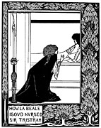 Arthurian Legend Prints - Beardsley: Morte Darthur Print by Granger
