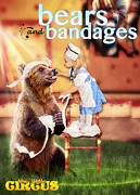Bandages Prints - Bears and Bandages Print by Fairy Tales Imagery Inc