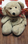 Stuffy Prints - Beary Takes A Break Print by Melissa McCrann