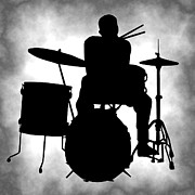 Drum Set Art - Beat Master by Daniel Hagerman
