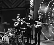 Beatles Metal Prints - Beatles 1966  20x24 size Metal Print by Chris Walter