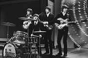 Beatles Metal Prints - Beatles 1966 24x36 size Metal Print by Chris Walter