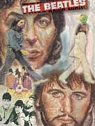 Melinda Saminski - Beatles Collage