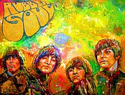 Rubber Soul Prints - Beatles Rubber Soul Print by Leland Castro