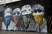 Beatles Street Mural Print by RicardMN Photography