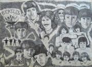 Beatles Tribute Print by Susan Plenzick