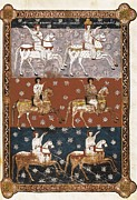 Miniatures Art - Beatus Of Liebana. 10th C. Sheet 150 by Everett
