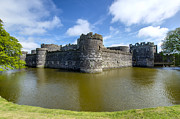 Wales Framed Prints Framed Prints - Beaumaris Castle -1 Framed Print by Paul Cannon