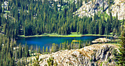 Mountainscape Posters - Beautiful Alpine Lake Poster by Robert Bales