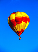 Wicker Basket Prints - Beautiful Balloon Print by Robert Bales