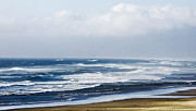 Interior Scene Photo Originals - Beautiful Blues Sea Shore by Amyn Nasser
