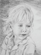 Los Angeles Drawings - Beautiful Boy by Kathryn Donatelli