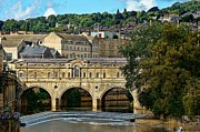 Pulteney Bridge Framed Prints - Beautiful Bridge Framed Print by Lanis Rossi