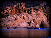 Watson Lake Photos - Beautiful Canoe Views by Aaron Burrows