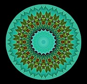 Mandala Photos - Beautiful Circle by Annette Allman