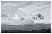 Ray Photo Prints - Beautiful Cloud On The Top Of Mountain Print by Setsiri Silapasuwanchai