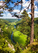 Sommer Prints - Beautiful Danube valley Print by Matthias Hauser