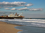 Casino Pier Posters - Beautiful day at the beach Poster by Photoart BySaMi