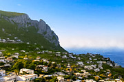 Italian Landscapes Prints - Beautiful Day On The Isle Of Capri Print by Mark E Tisdale