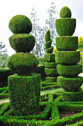 Johann Baptist Hofner Art - Beautiful Decorative Green Park by Boon Mee