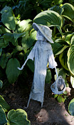 Figures Photo Originals - Beautiful Garden Figure 2 by Paul Cannon