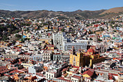 Linda Queally Posters - Beautiful Guanajuato Poster by Linda Queally
