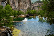 Lake Photos - Beautiful Hanging Lake by JC Warner