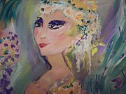 Stage Painting Originals - Beautiful inside and out by Judith Desrosiers