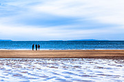 Beautiful Irish Beach On A Winter Day Print by Mark E Tisdale