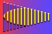 Xylophone Digital Art - Beautiful Music by Gary Silverstein