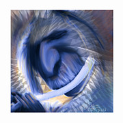 Distortion Framed Prints - Beautiful Noise Framed Print by Bob Salo