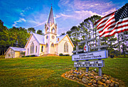 Randall Branham - Beautiful Old Smoky Mountain Church