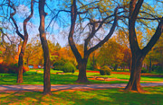 Sasa Prudkov - Beautiful park on sunny...