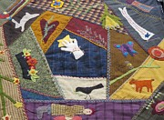 Quilts Photos - Beautiful Quilt Square by Donna Wilson