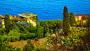 Mediterranean Landscape Framed Prints - Beautiful Sicily Framed Print by Madeline Ellis