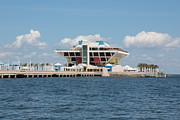 St Pete Prints - Beautiful St Pete Pier Print by Carol Groenen