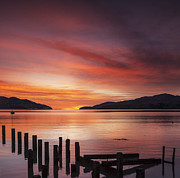 Jetty Posters - Beautiful Sunrise Poster by Colin and Linda McKie