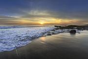 Beautiful Sunrise Print by Debra and Dave Vanderlaan