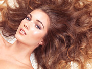 Bed Spread Photos - Beautiful woman with long hair spread around her by Oleksiy Maksymenko