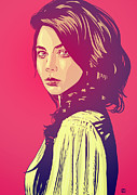 """pop Art"" Drawings Prints - Beauty Print by Giuseppe Cristiano"
