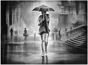 Artist Vivekananad Patil - Beauty in the rain