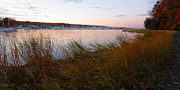 New England Marina Park Prints - Beauty It Brings Print by Lourry Legarde