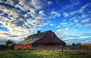 Alberta Landscape Prints - Beauty of Barns 10 Print by Bob Christopher