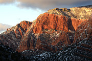 Beauty Of Kolob Canyon  Print by Bob Christopher