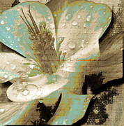 Flower Photographs Mixed Media Prints - Beauty V Print by Yanni Theodorou
