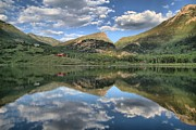 Marble Art - Beaver Lake In Marble Colorado by Adam Jewell