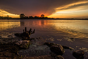 Aaron J Groen - Beaver Lake Sunset