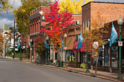 Sewickley . Framed Prints - Beaver st  Sewickley Framed Print by Emmanuel Panagiotakis