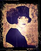 Bebe Daniels - 1920s Actress Print by Absinthe Art By Michelle LeAnn Scott