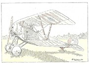Wwi Drawings - Bebe by L D Williams